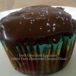 Salted Dark Chocolate Caramel Frosting