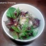 Quick and Simple: Balsamic Dressing Recipe