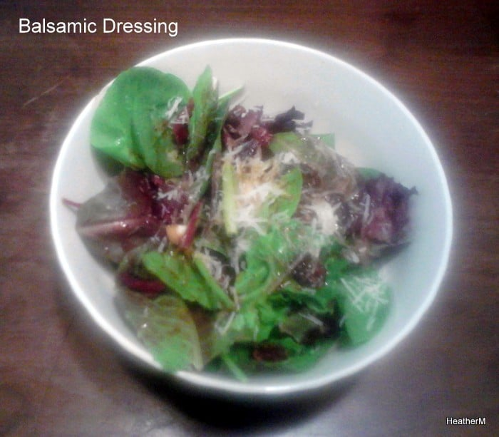 balsamic dressing
