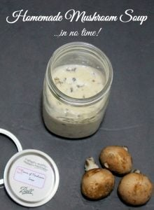 Easy Homemade Mushroom Soup Recipe that is gluten-free - Real: The Kitchen and Beyond