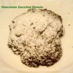 Chocolate Zucchini 'Donuts'
