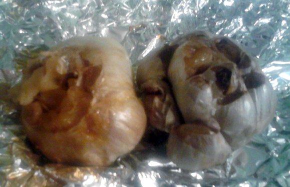 diy roasted garlic