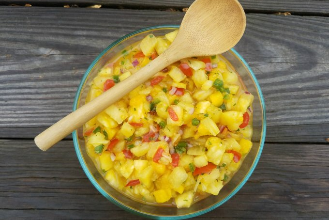 Pineapple Mango Salsa Recipe