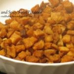 Sweet and Spicy Sweet Potatoes {ActiFry or Oven}