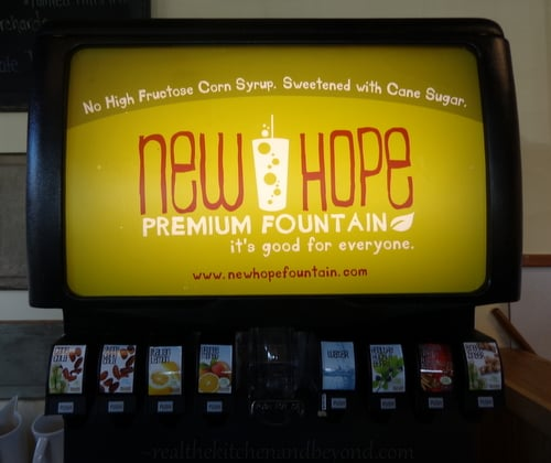 New Hope Soda Fountain ~ No #HFCS, only cane sugar