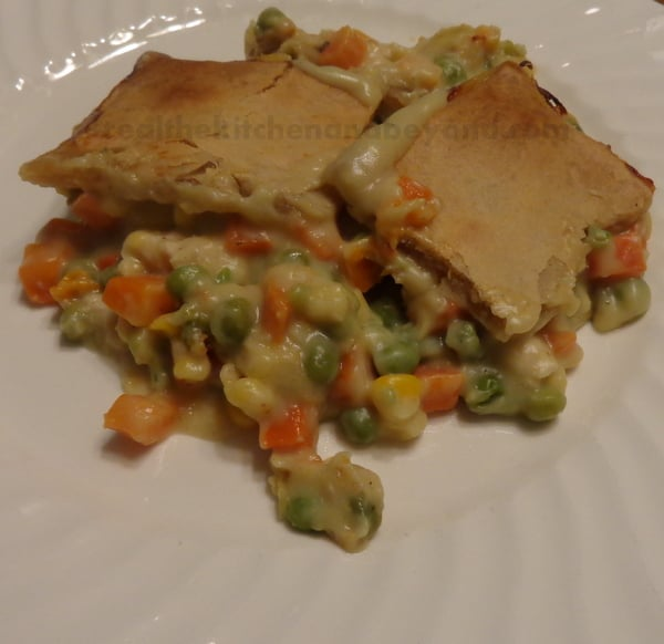 Ithan Market Chicken Potpie ~ busy day, easy dinner