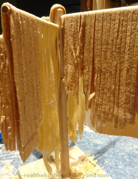 Make your own fresh whole wheat pasta