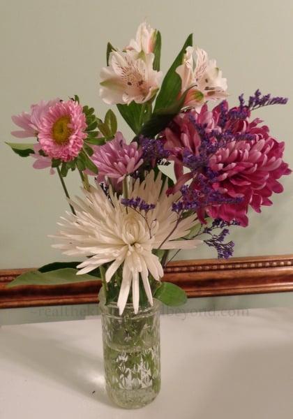Save money on those pretty flower arrangements ~ arrange them yourself