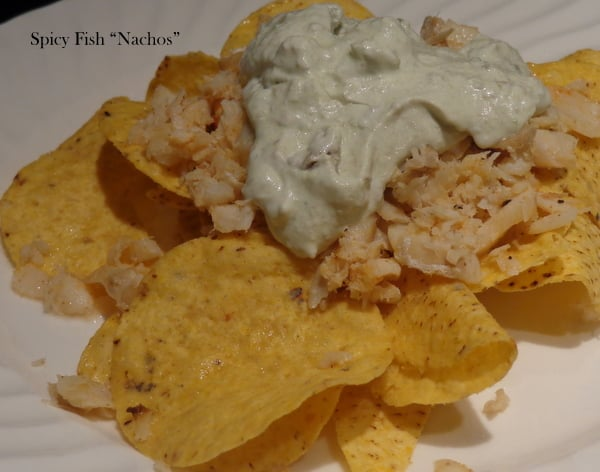 Spicy Fish Nachos make a nice and light summer dinner but still pack a punch of flavor