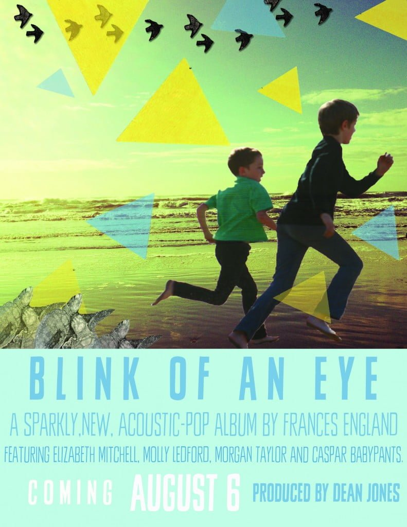 "Happy birthday with ""Blink of An Eye"", a nostalgic kids' cd by Frances England"