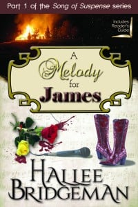 A Melody for James is a great romantic suspense read where faith and real life connect #christian #fiction