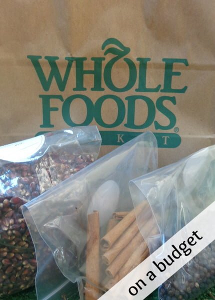 whole foods on a budget