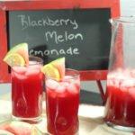 Blackberry Melon Lemonade