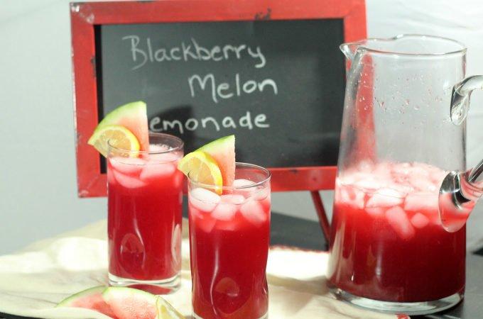 Blackberry Melon Lemonade Recipe