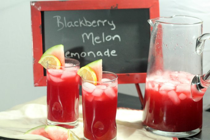 Blackberry Melon Lemonade Recipe