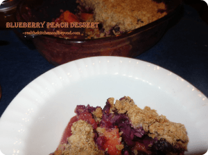 Lush Blueberries and peaches make this dessert remind you of all that is summer. With Monkfruit in the Raw being the only sweetener, it is healthier than your average #dessert but still so satisfying