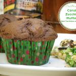 Carob Zucchini Muffins {Egg-free}