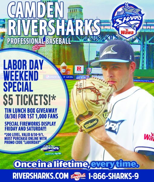 Take the kids out for a game with the Camden Roversharks