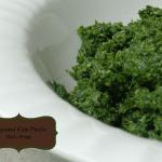 Hempseed Kale Pesto {Nut-free}