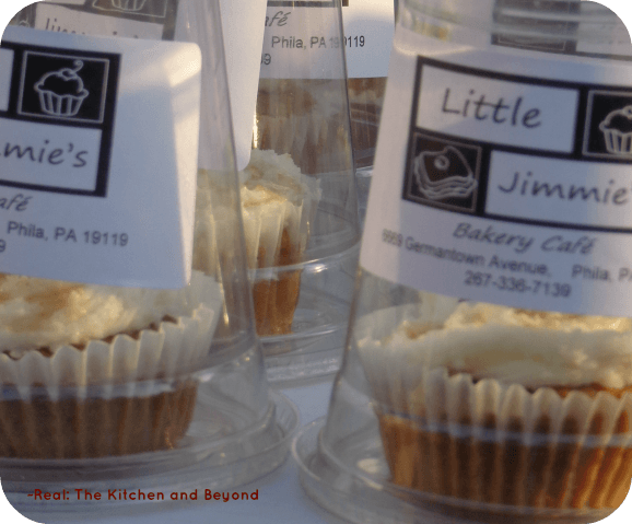 Little Jimmie's Bakery offers something sweet on Mt. Airy's Street Fare: Sip, Savor, and Stroll . End the evening with a scrumptious sweet potato cupcake for dessert