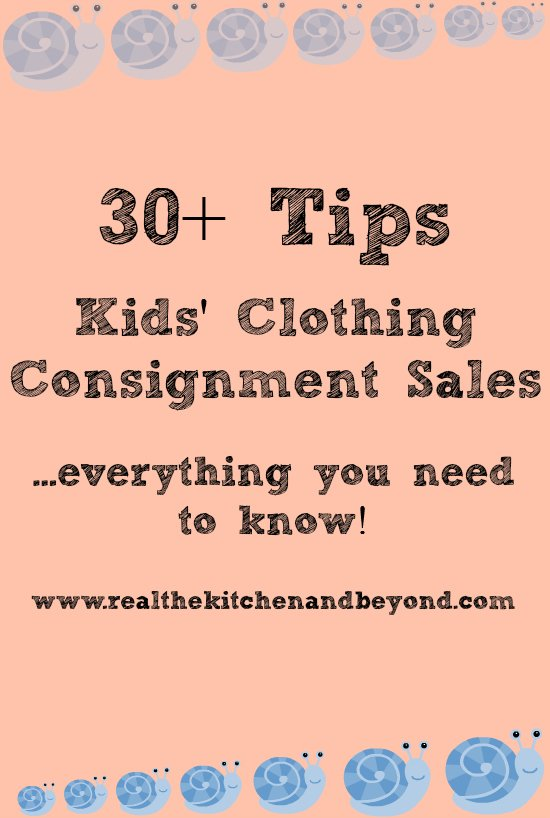 tips for saving on kids clothes