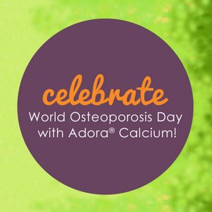 adora calcium world osteoporosis day