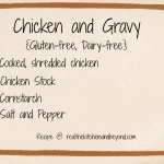 Chicken and Gravy