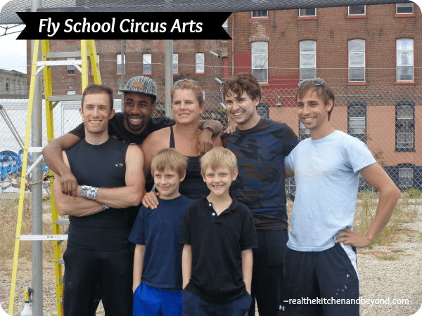 Fly School Circus Arts ~  celebrating a permanent location in Philadelphia and teaching people how to fly