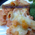 Fabulously frugal, change your ziti up with this chicken cheddar ziti - realthekitchenandbeyond.com