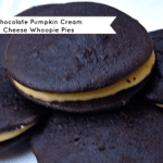 Chocolate Pumpkin Cream Cheese Whoopie Pies