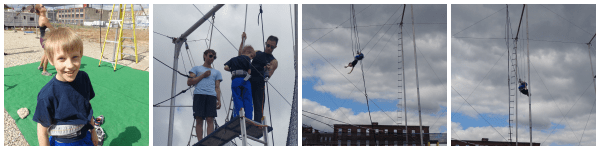 Fly School Circus Arts ~ teaching young and old how to fly daringly high in Philadelphia, PA