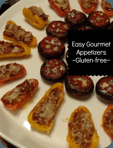 easy gourmet appetizers gluten free