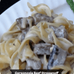 Gorgonzola Beef Stroganoff & Christmas Traditions