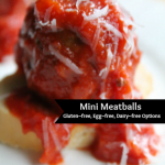 Bite Sized Meatball Sandwiches