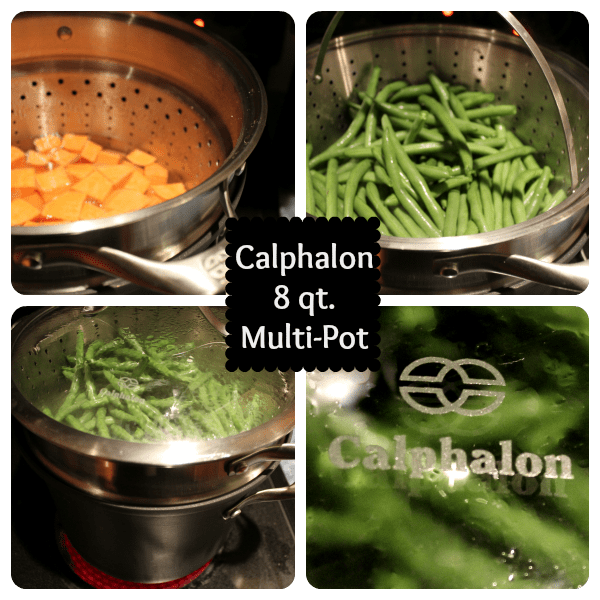 calphalon 8 qt multi pot saves on space and electricity