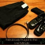 Frugal Last Minute Shopping