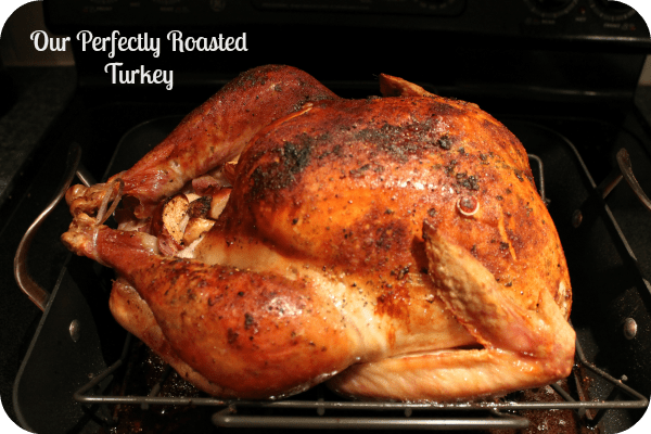 How to roast the perfect turkey. This is our family's favorite turkey recipe. #turkey #recipe