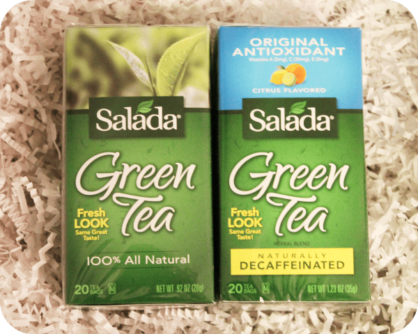 nsalada green tea caffeinated and decaf