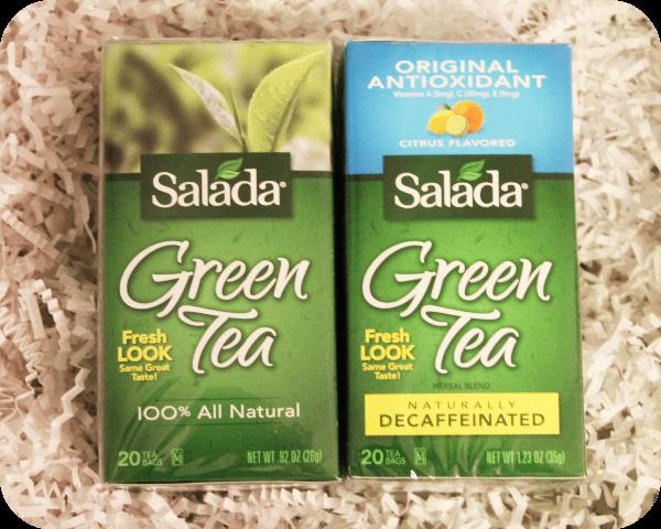 nsalada green tea caffeinated and decaf