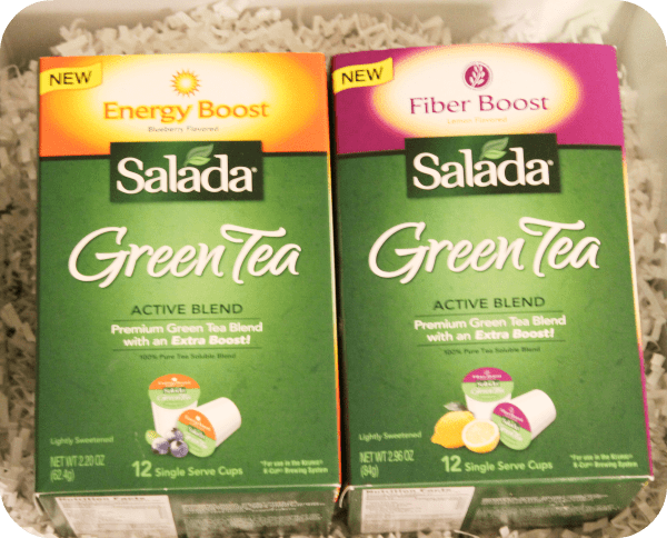 salada green tea k cups