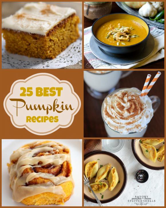 25 Pumpkin Recipes