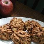 Apple Oat Drop Biscuits