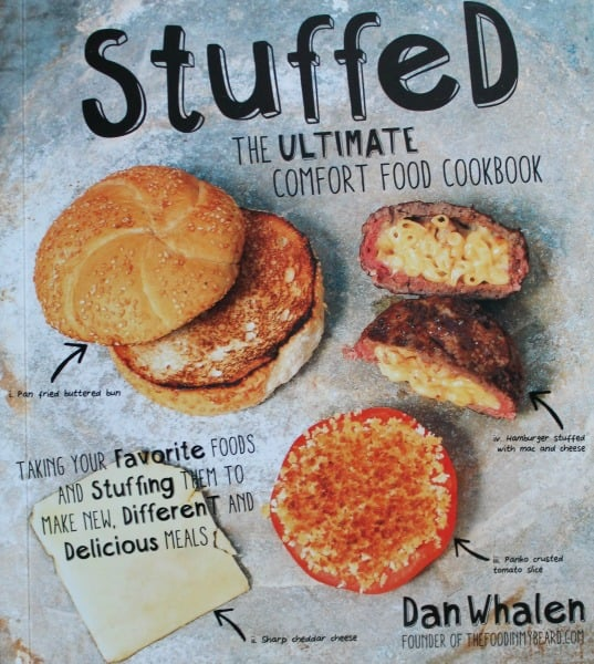 Fried dough mozzarella bites a stop on the stuffed tour real the stuffed the ultimate comfort food cookbook forumfinder Gallery