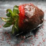 Kids in the Kitchen: 1, 2, 3 Easy Chocolate Covered Strawberries
