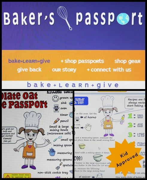 With Baker's Passport kids have fun in the kitchen