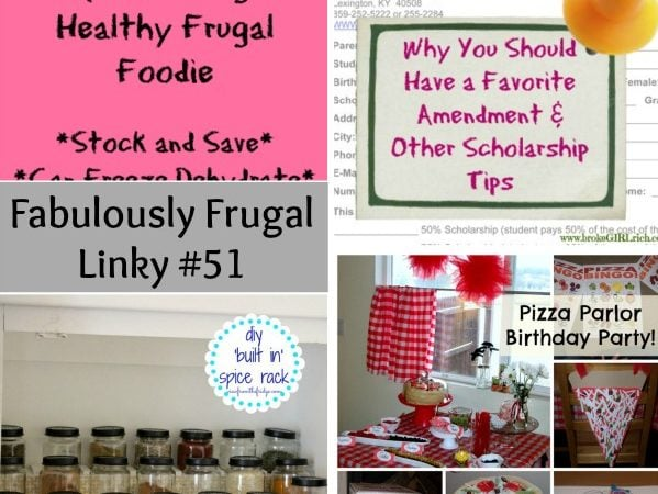 fabulously frugal linky 51