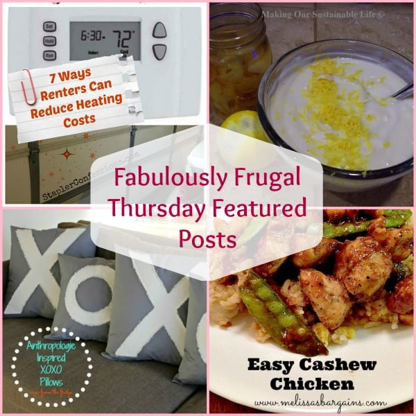 Fabulously Frugal Thursday Featured Posts 50