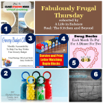 Fabulously Frugal Thursday Link-up #53