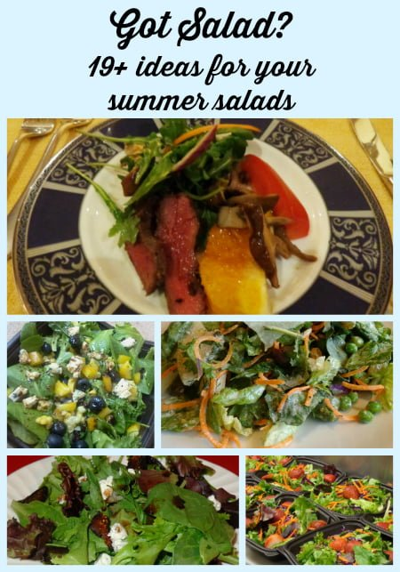 19 summer salad ideas with salad pictures