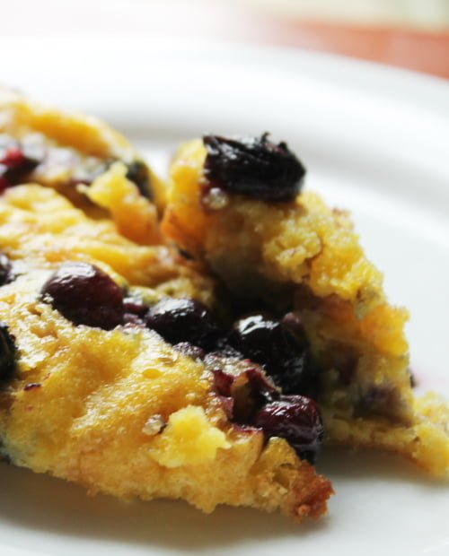Blueberry Lemon Donut French Toast Bake